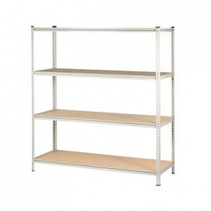 Boltless-Z-Beam-Shelving
